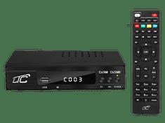 LTC DVB-T-2 dekoder prizemni LTC s programabilnim daljinskim upravljalnikom H.265