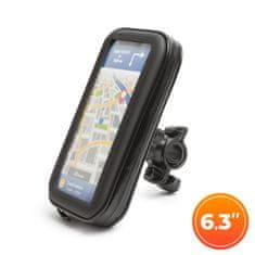 """WHEEL ZONE Torbica z držalom za telefon - za kolo ali motor - s površino na dotik - 6,3 """""""