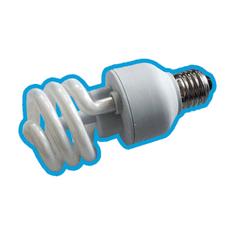 KAPPA systémy CFR-2027 stmievacia úsporná žiarivka s RF prijímačom