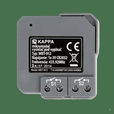 KAPPA systémy WBT-912 Mikromodul / 2-kanálový vysielač pod vypínač