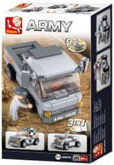 Sluban Army Creator M38-B0537E Transportní vůz 3v1