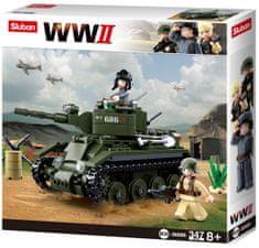 Sluban WWII M38-B0686 Sovětský tank BT7