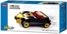 Sluban Power M38-B0801H Natahovací auto Černý vítěz