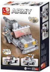 Sluban Army Creator M38-B0537C Raketomet 3v1