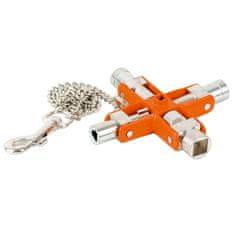 Bahco 9 kľúčov v 1 - unvierzálne kľúče na rozvodové skrine MK9