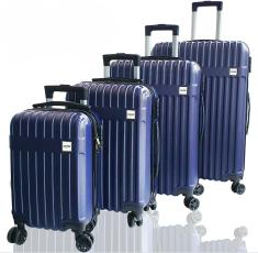 DMS Germany 4-dílná sada kufrů RK-4004 / Tmavě modrý