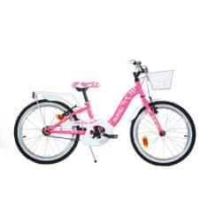 Dino bikes Smarty 20 dječji bicikl, ružičasto-bijeli