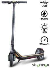 Trevi EMG Velociptor EVO ES88W 8,5 električni romobil, sklopiv, crna
