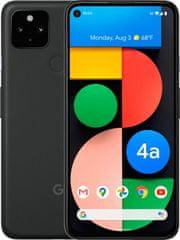 GOOGLE Pixel 4a 5G mobilni telefon, 6GB/128GB, crni