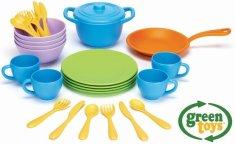 Green Toys Sada nádobí 27 ks