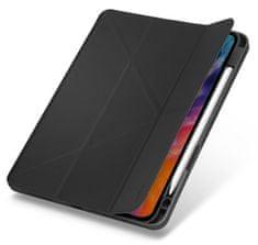 """UNIQ TRANSFORMA RIGOR ochranné puzdro pre iPad Air 10,9"""" (2020) antibakteriálne, čierno-šedé (UNIQA-NPDA10.9 (2020) -TRIGGRY)"""