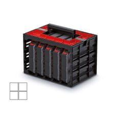 Kistenberg skrinka s 5 organizérmi (krabičky)
