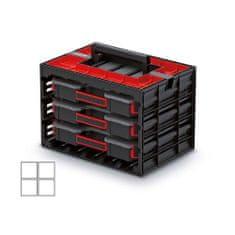Kistenberg skrinka s 3 organizérmi (krabičky)
