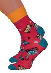 MORE (R) Dámské klasické ponožky 078/015