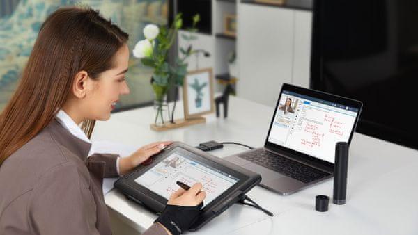 Tablet graficzny XP-Pen Artist 12 Pro - 5 080 LPI, 8192 poziomy nacisku, wyświetlacz Full HD, duża powierzchnia robocza