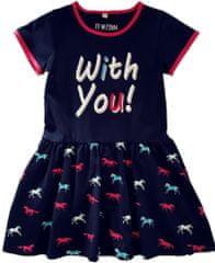 Topo dívčí šaty 2-13280-804
