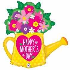 Grabo Fóliový balón supershape Happy Mother Day Kvetináč 81cm