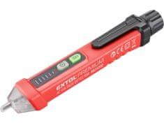 Extol Premium Detektor AC napätia bezdotykový, 12-1000V, zvuková a svetelná signalizácia