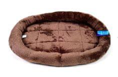 Petproducts Hnědý pelíšek - 52x43 cm