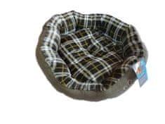 Petproducts Šedý pelíšek pro psa - 45x40 cm
