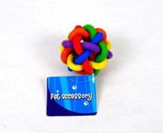 Petproducts Propletená gumová hračka - 7 cm