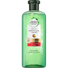 Herbal Essences Šampón pre suché a farbené vlasy Potent Aloe + Mango ( Color Protect & Shine Shampoo)