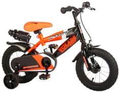 """Volare Detský bicykel pre chlapcov Sportivo Neon Orange Black 12""""- zložený na 95 %"""