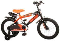 """Volare Detský bicykel pre chlapcov Sportivo Neon Orange Black 16""""- zložený na 95 %"""