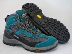 Grisport Moški polvisoki treking čevlji 14407, temno zeleni/sivi