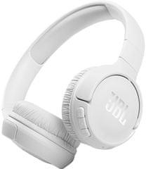 JBL Tune 510BT brezžične slušalke, bele - Odprta embalaža