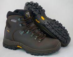 Grisport Temno rjavi unisex polvisoki treking čevlji Fox 10303