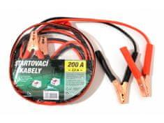 Green Startovací kabely 200A 2,5m zipper bag