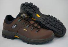 Grisport Badger 10309 temno rjavi unisex nizki treking čevlji
