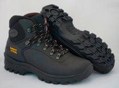 Grisport Temno rjavi moški polvisoki treking čevlji Buffalo 10242