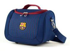 Travel and More kozmetični kovček, 12 l, 30 x 20 x 21 cm, FC Barcelona, moder s črtami