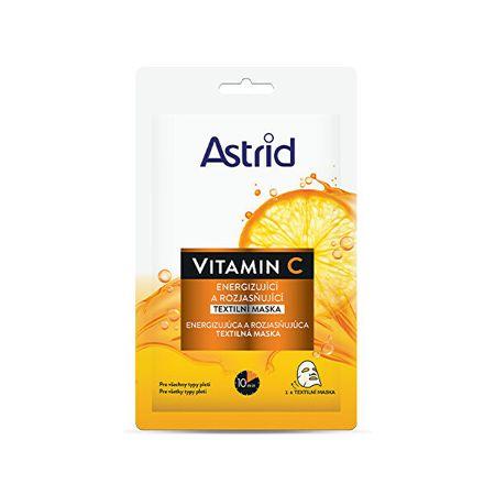 Astrid Energizáló és ragyogó textilmaszk C-vitamin 1 db