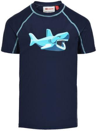LEGO Wear Tias LW-11010014 majica za plivanje za dječake, 122, tamno plava