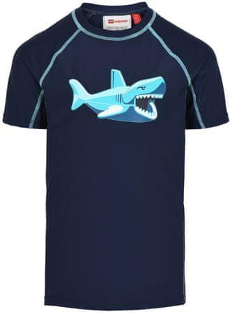 LEGO Wear Tias LW-11010014 majica za plivanje za dječake, 134, tamno plava