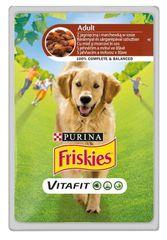 """Friskies """"VitaFit ADULT"""" jagnięcina z marchewką, 20x 100 g"""