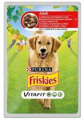 """Friskies """"VitaFit ADULT"""" z wołowiną i ziemniakami, 20x 100 g"""