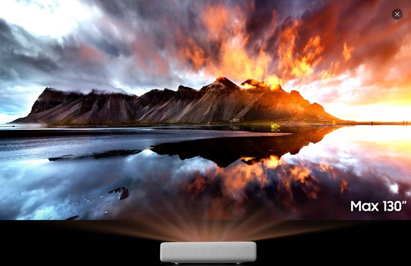 Domáce kino Samsung SP-LSP7TFA (SP-LSP7TFAXXH) rozlíšenie 4K UHD, realistický obraz, verné farby