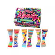 United Odd Socks Veselé ponožky Foot Kandy veľ.: 37-42