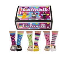 United Odd Socks Veselé ponožky Catwalk veľ.: 37-42