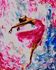 Kouzelný Art Malování podle čísel Baletka