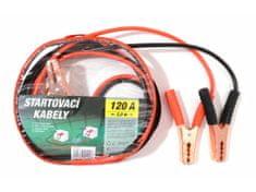 Green Startovací kabely 120A 2,0m zipper bag