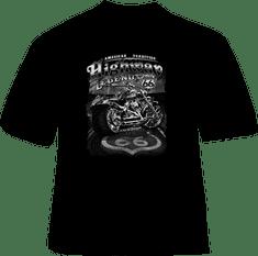 BrinX.cz Route 66 HIGHWAY LEGEND - nové motorkářské tričko