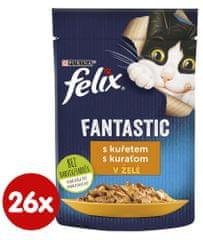 Felix Fantastic csirke zselében 26 x 85 g