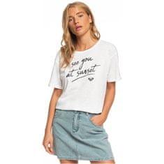Roxy Dámské triko Follow Me To The Beach A Snow White ERJZT04798-WBK0