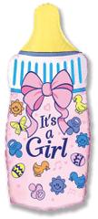 Flexmetal Fóliový balón - Fľaša Je to dievča