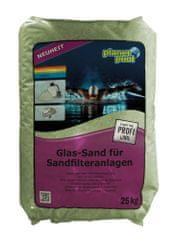 Planet Pool pesek zelen, steklen 0,5-1,00 mm, 20 kg